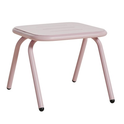 Ray lounge table rose pink Woud