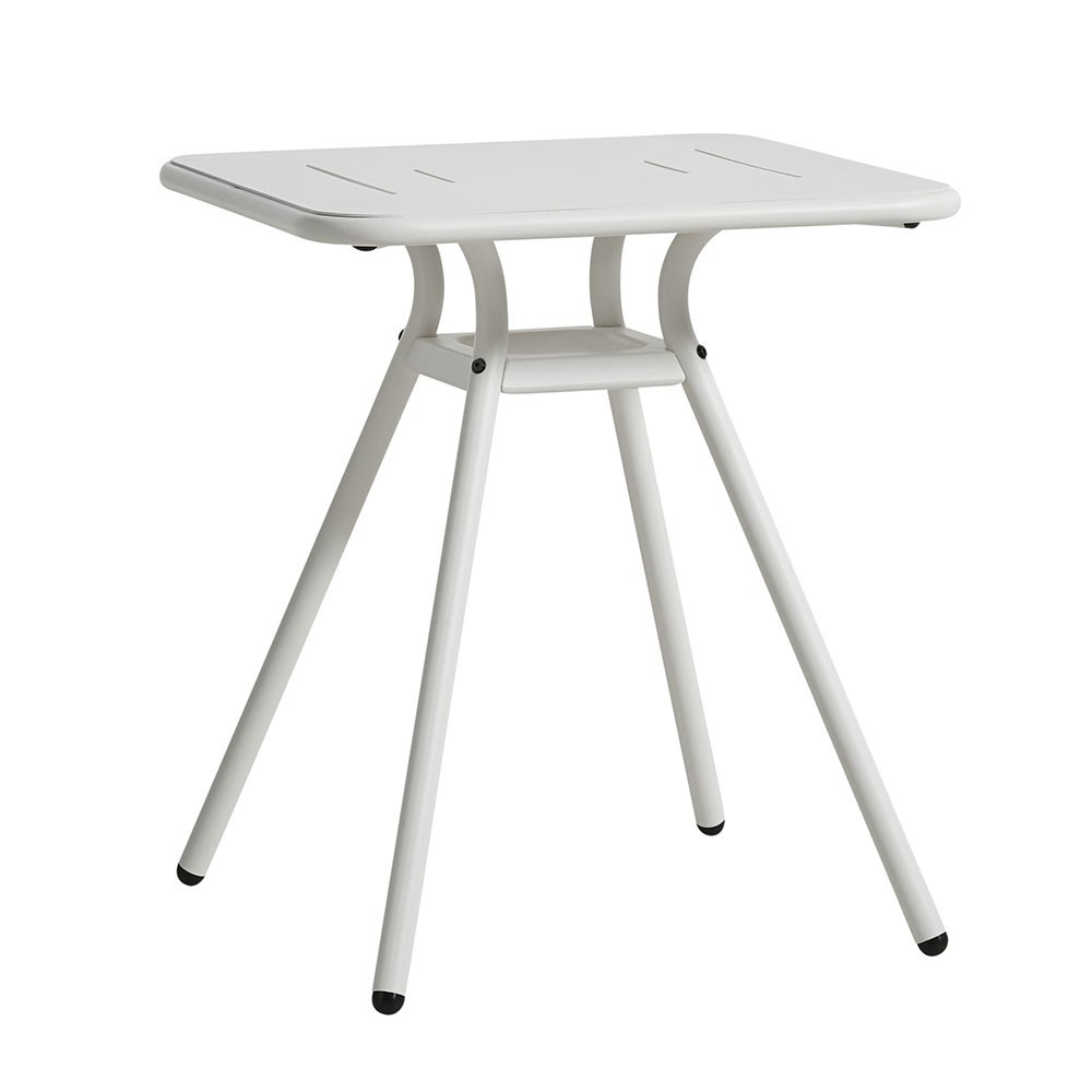 Ray Square café table white Woud