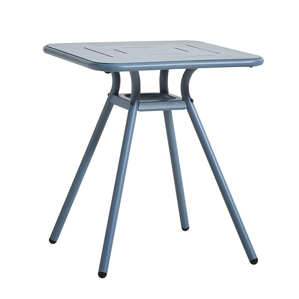 Table de café Ray Square bleu Woud