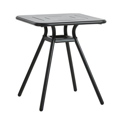 Table de café Ray Square noir charbon Woud
