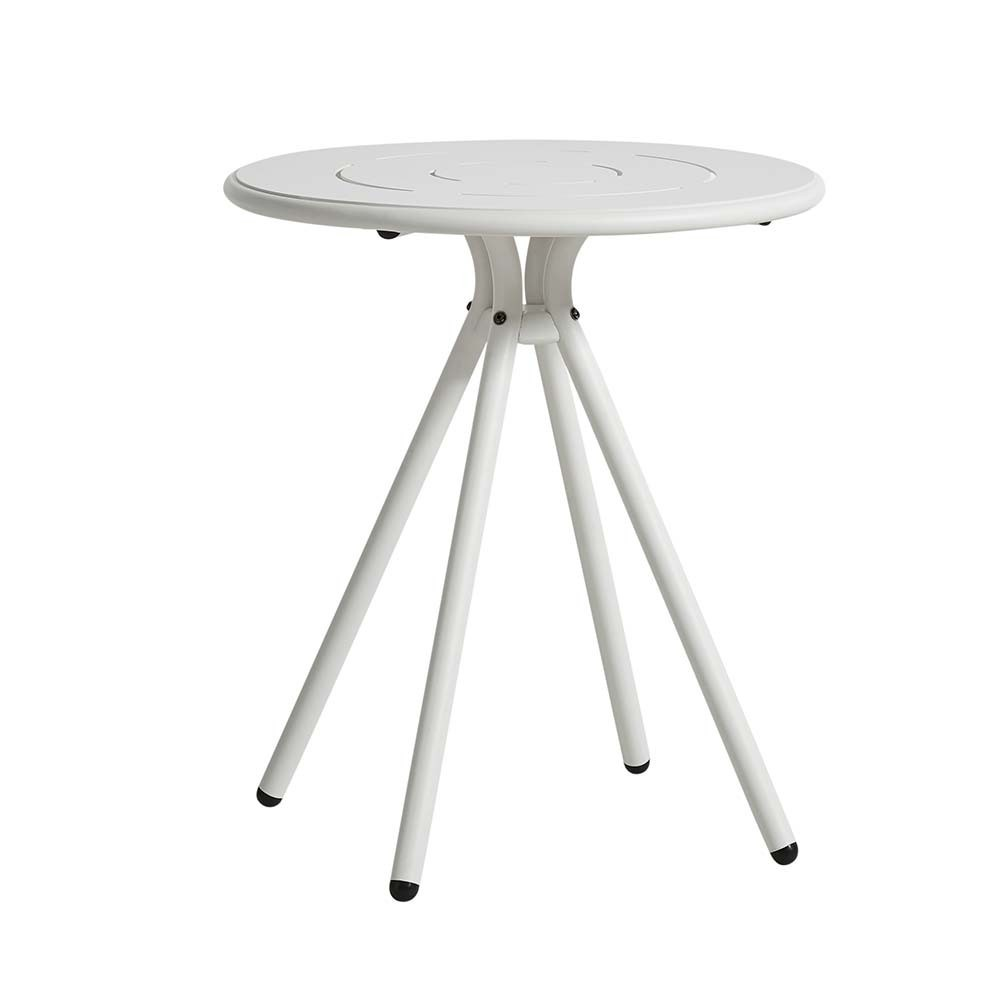 Ray Round café table white Woud