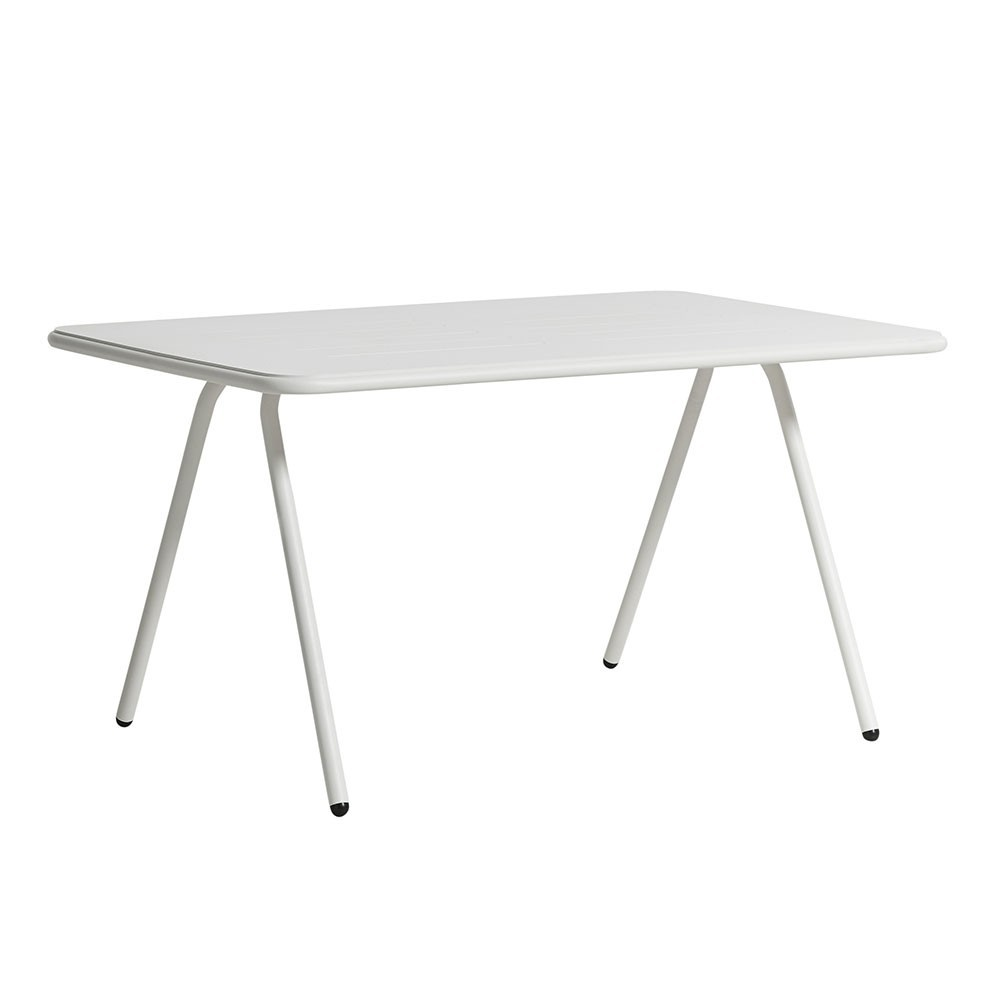Ray dining table white 140 cm Woud