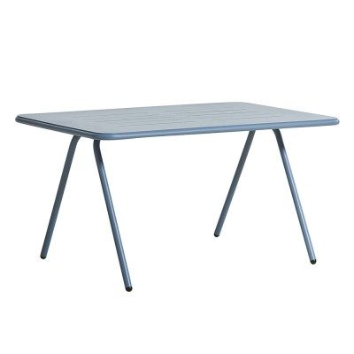 Ray dining table blue 140 cm Woud