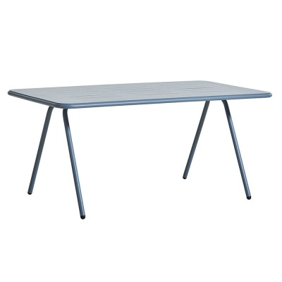 Ray dining table blue 160 cm Woud