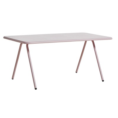 Ray dining table rose pink 160 cm Woud