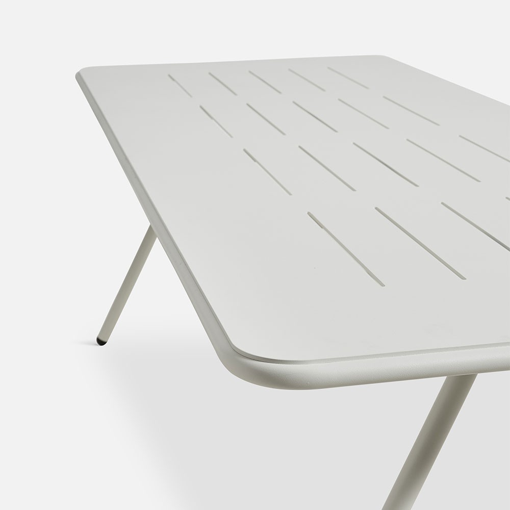 Ray dining table white 220 cm Woud