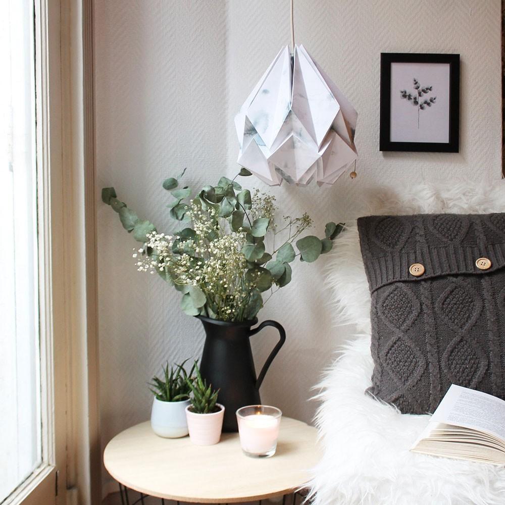 Hanahi hangend papier winterpatroon Tedzukuri Atelier