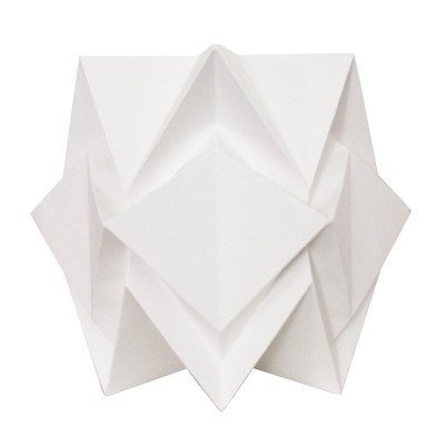 Hikari table lamp paper white Tedzukuri Atelier