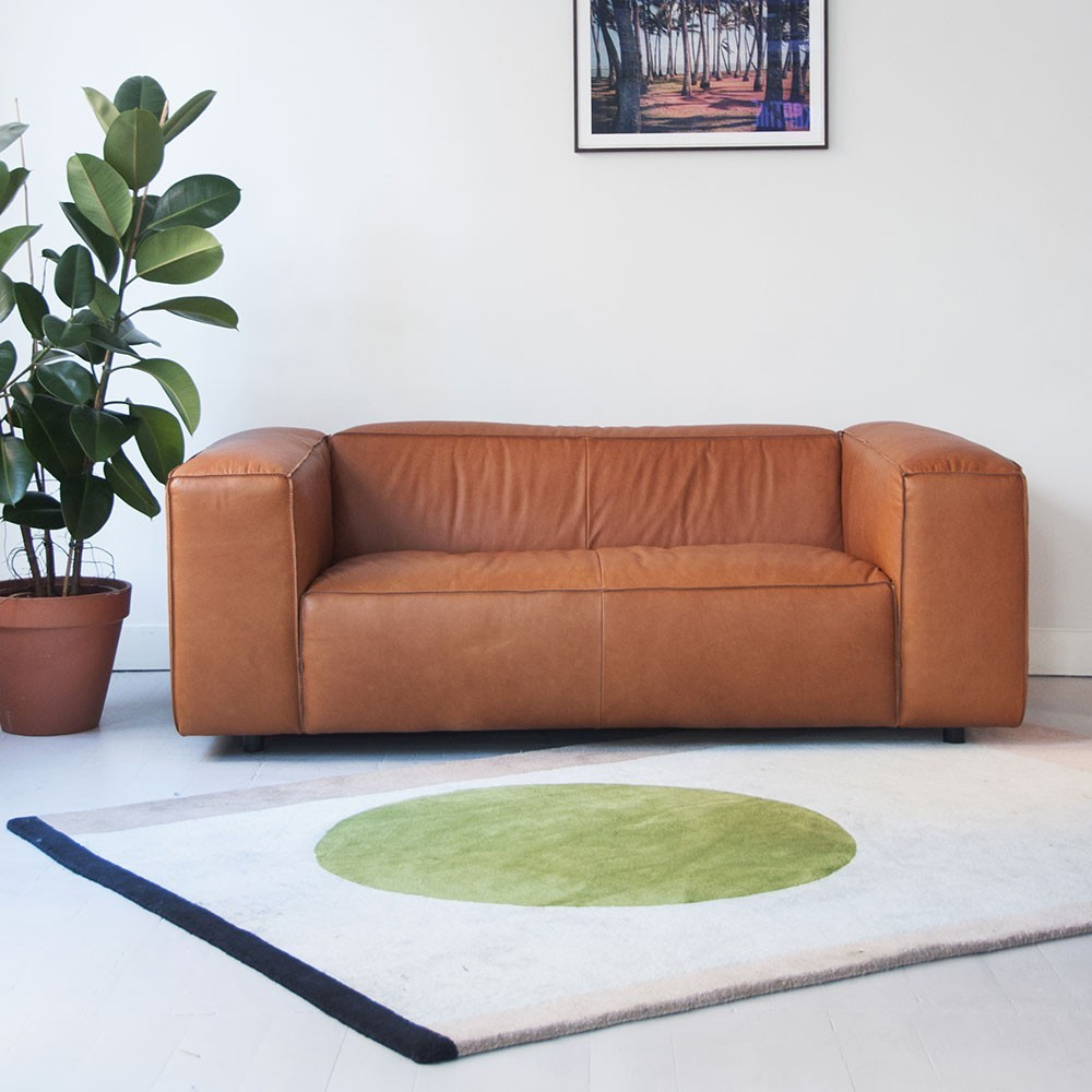Dunbar Sofa 2 Seaters Leather Da Silva