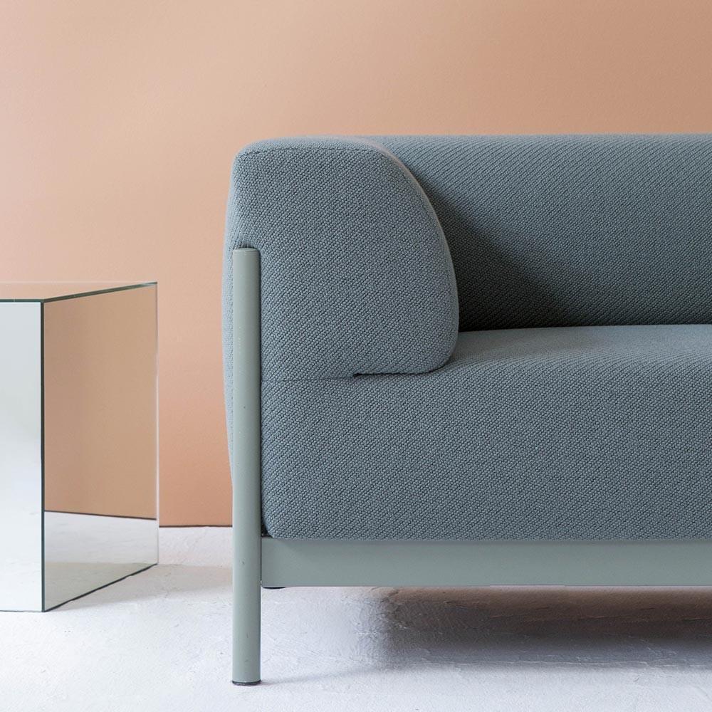Kate sofa 2 seats Kvadrat Coda 2 - 962 Fést