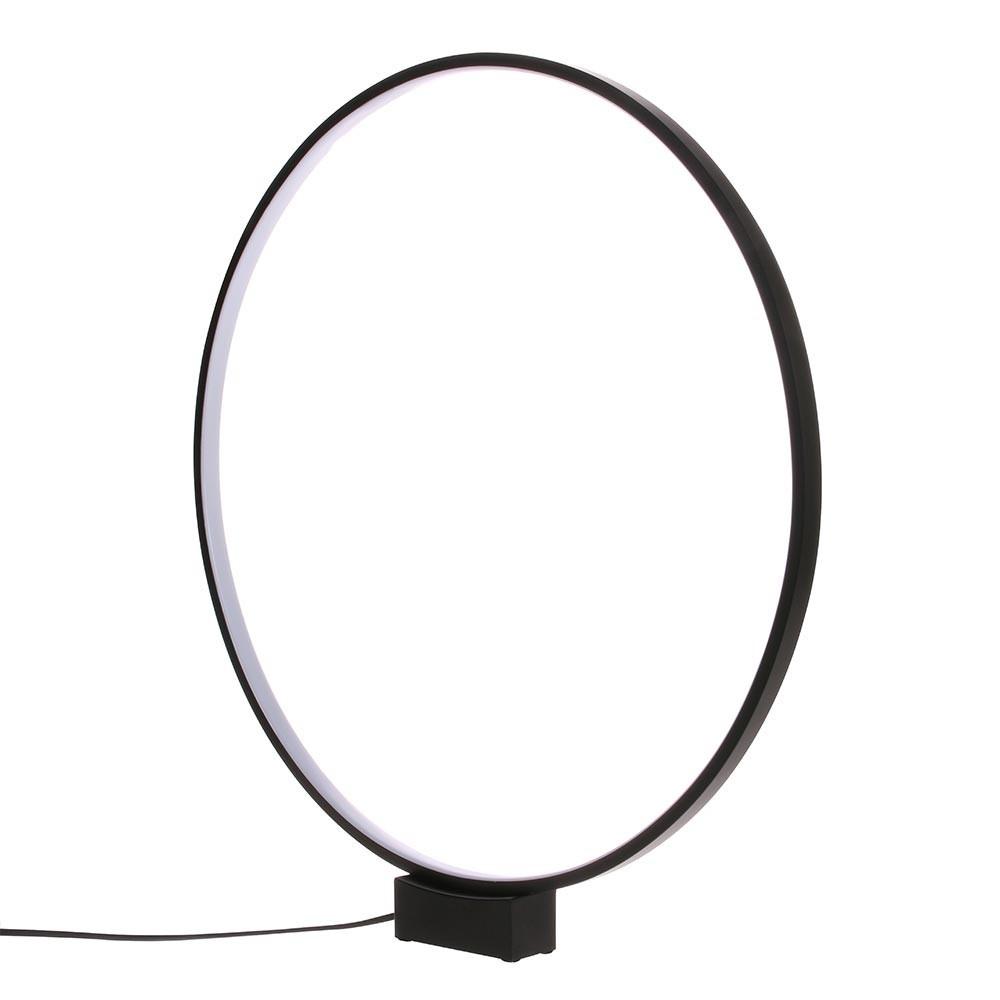 Circle table lamp black HKliving
