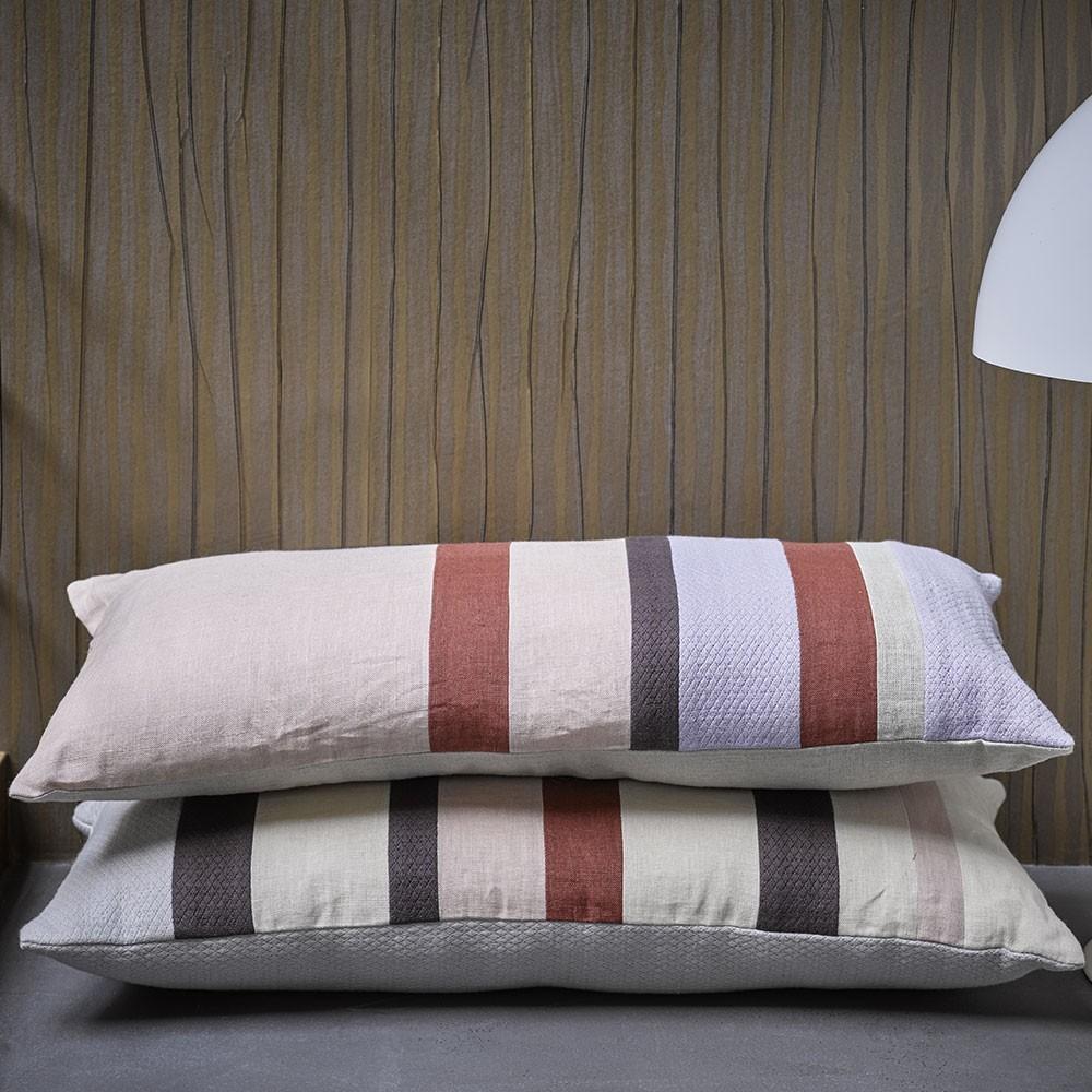 Linen striped cushion D HKliving