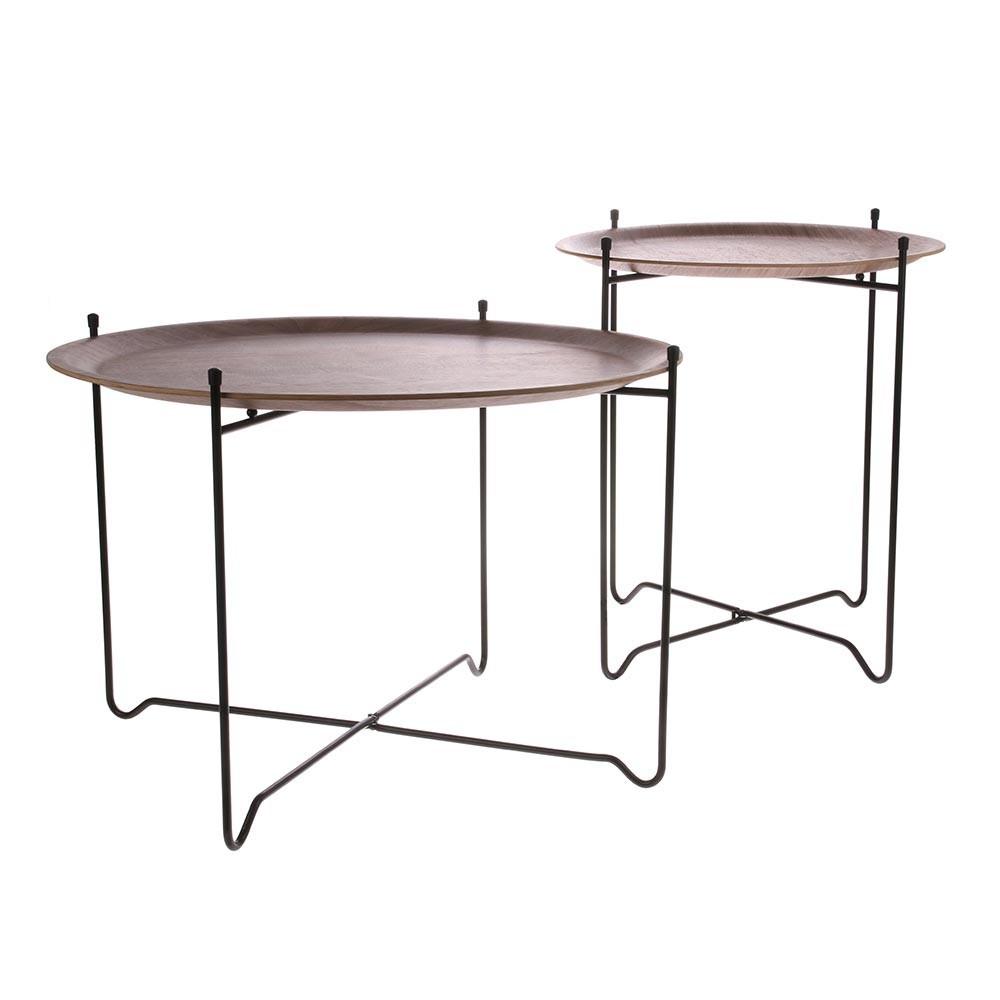 Walnut side table L HKliving