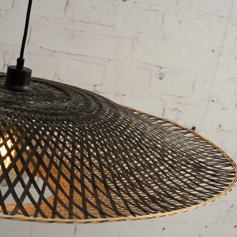 Kalimantan flat pendant lamp L Good & Mojo