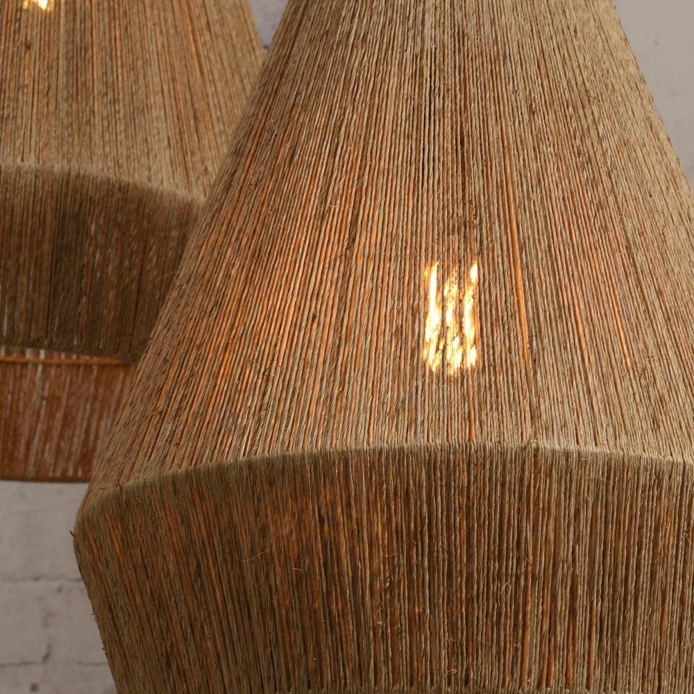 Iguazu hanglamp naturel jute L Good & Mojo
