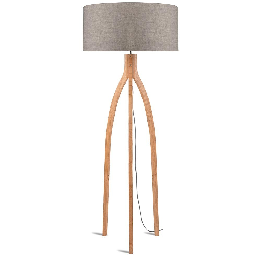 Annapurna floor lamp linen dark Good & Mojo