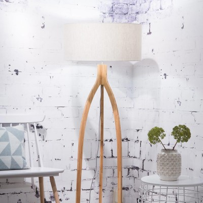Annapurna floor lamp linen light Good & Mojo