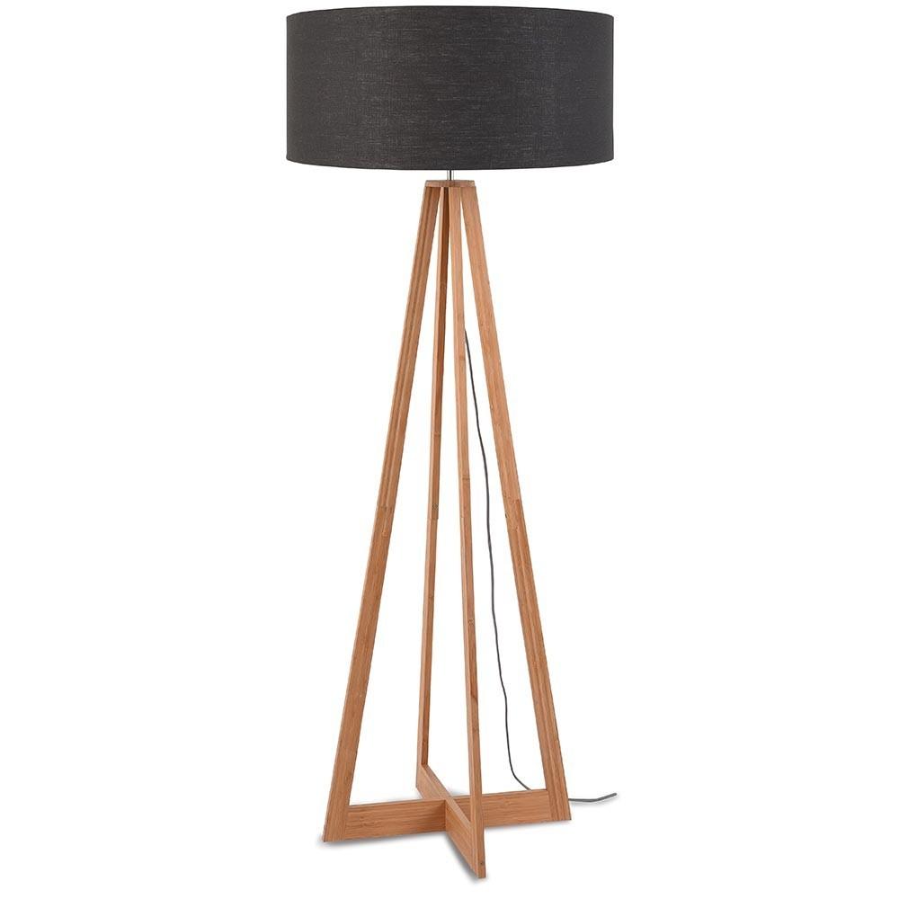 Everest floor lamp linen dark grey Good & Mojo