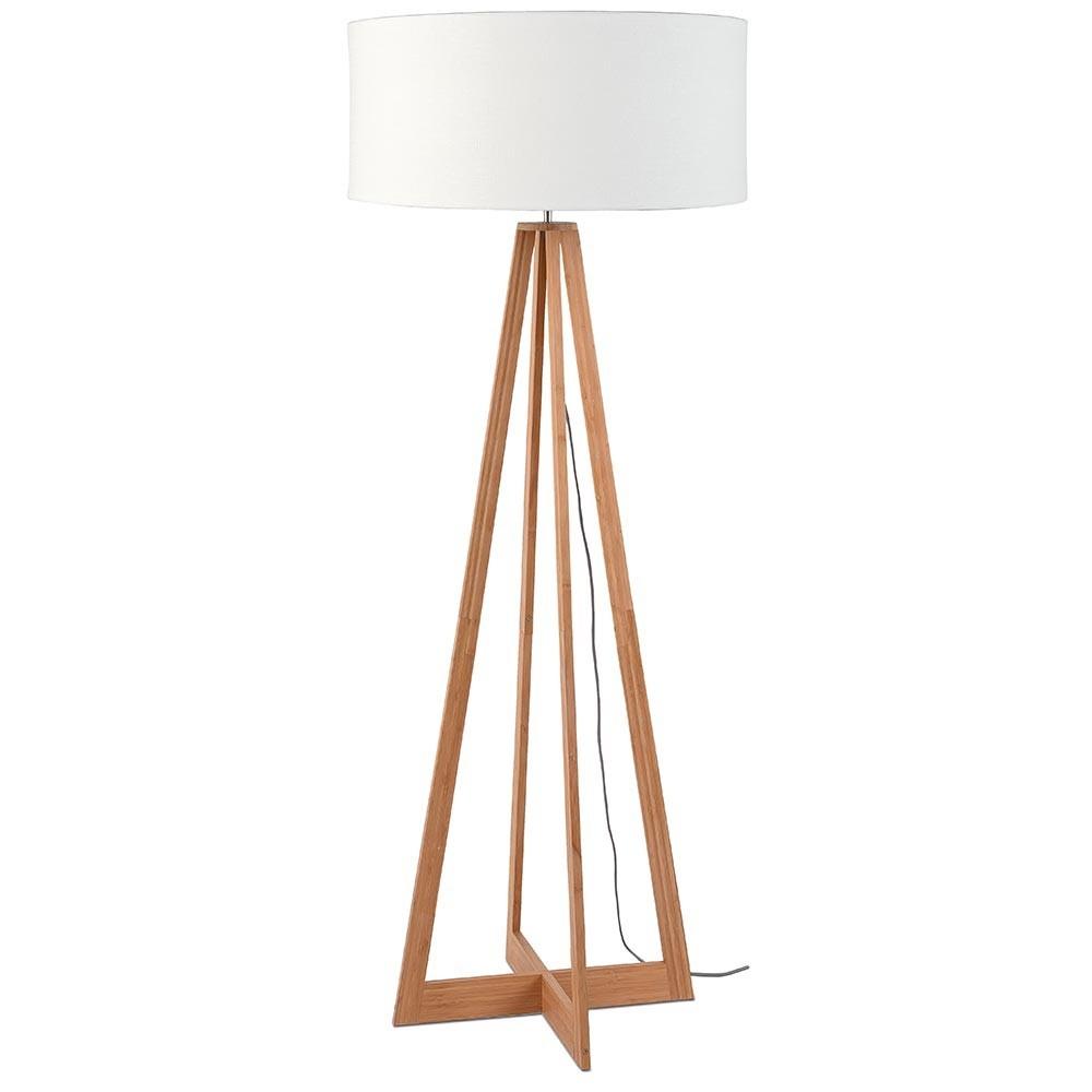 Everest floor lamp linen white Good & Mojo