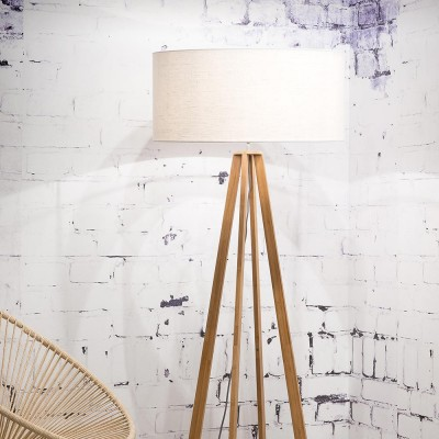 Everest floor lamp linen white Good & Mojo