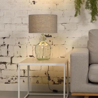 Murano table lamp linen light grey S Good & Mojo