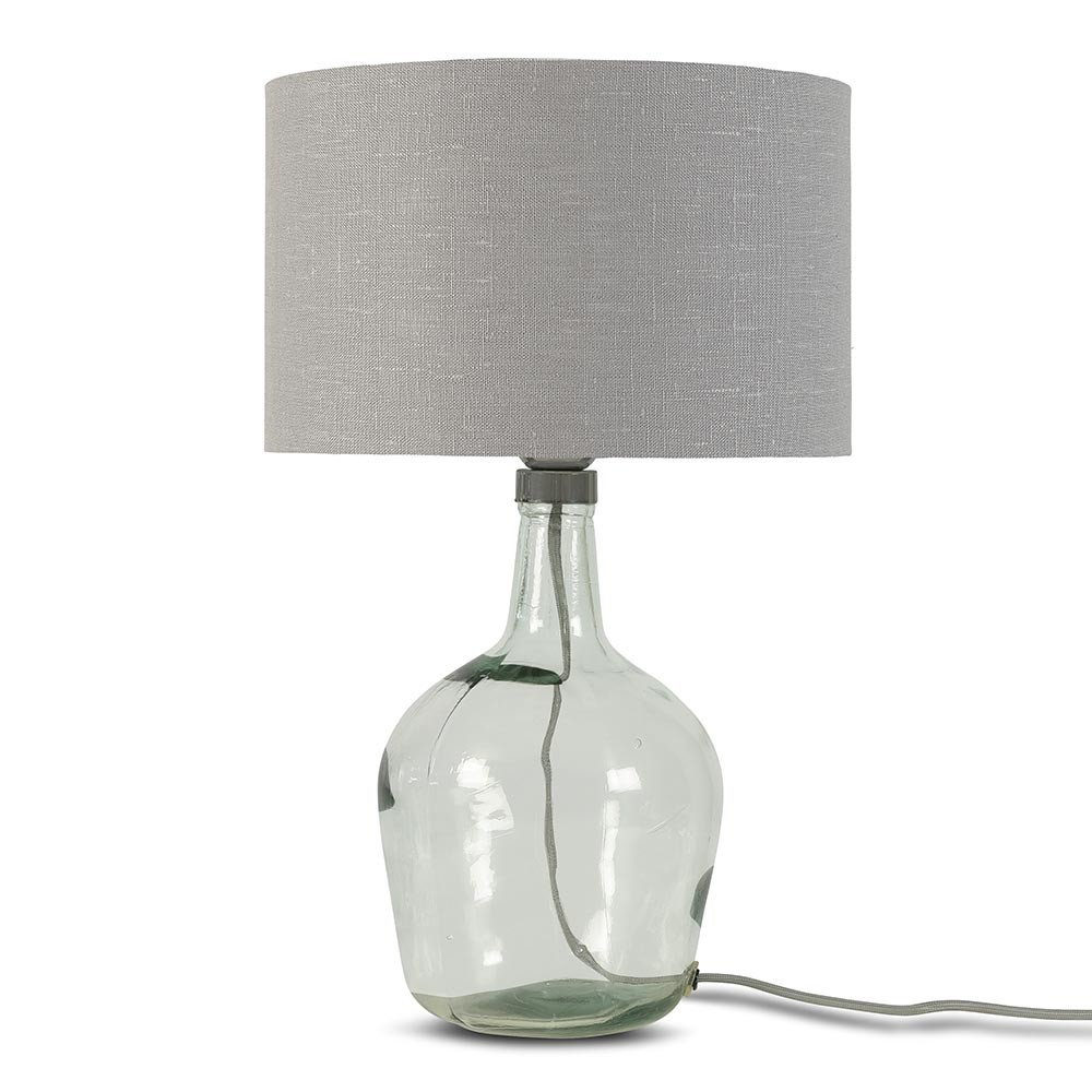 Murano table lamp linen light grey S Good & Mojo