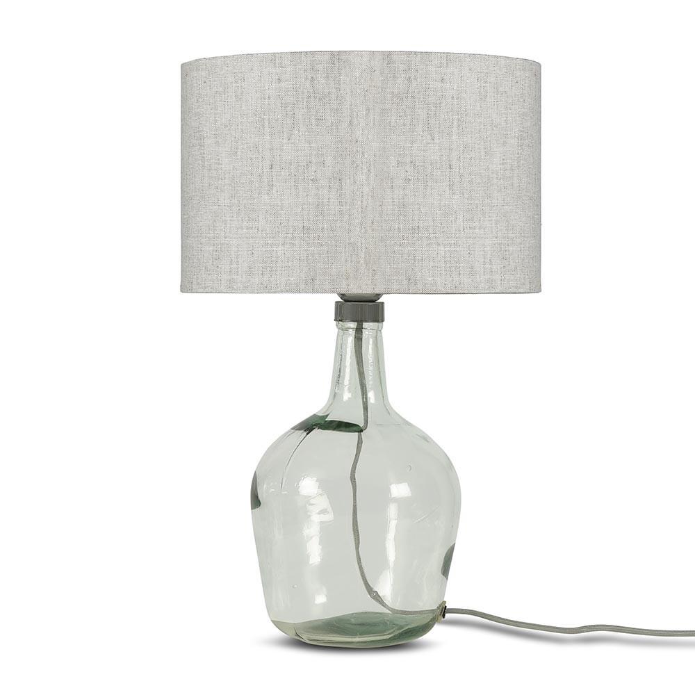Murano tafellamp licht linnen S Good & Mojo