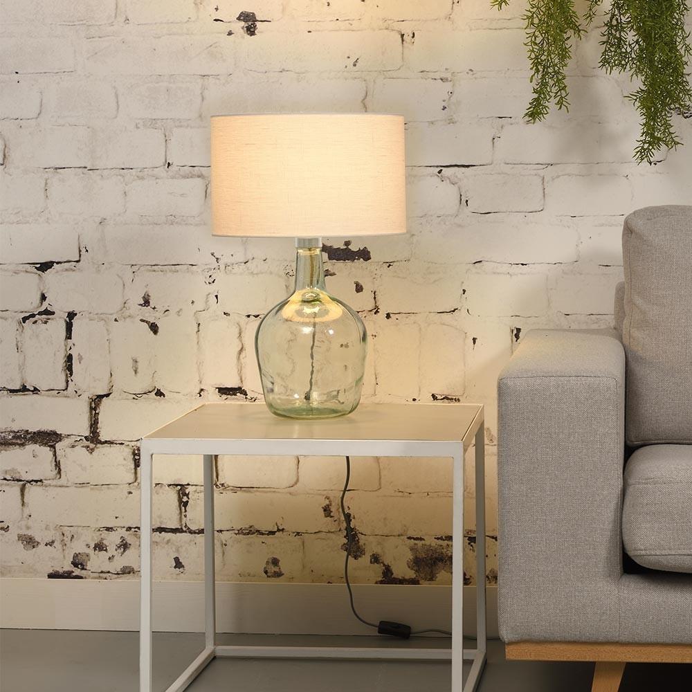 Murano table lamp linen white S Good & Mojo