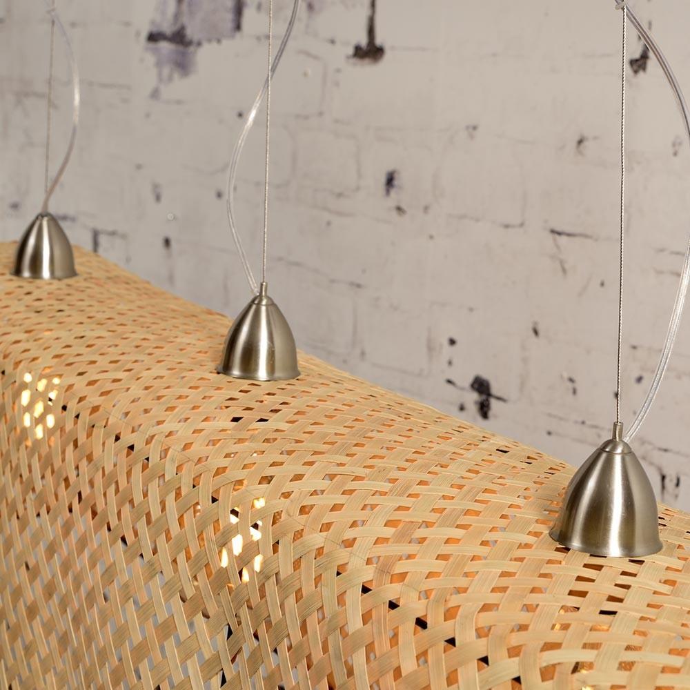 Komodo pendant lamp bamboo natural Good & Mojo