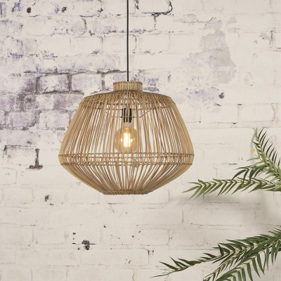 Hanglamp in natuurlijk rotan Madagascar Good & Mojo