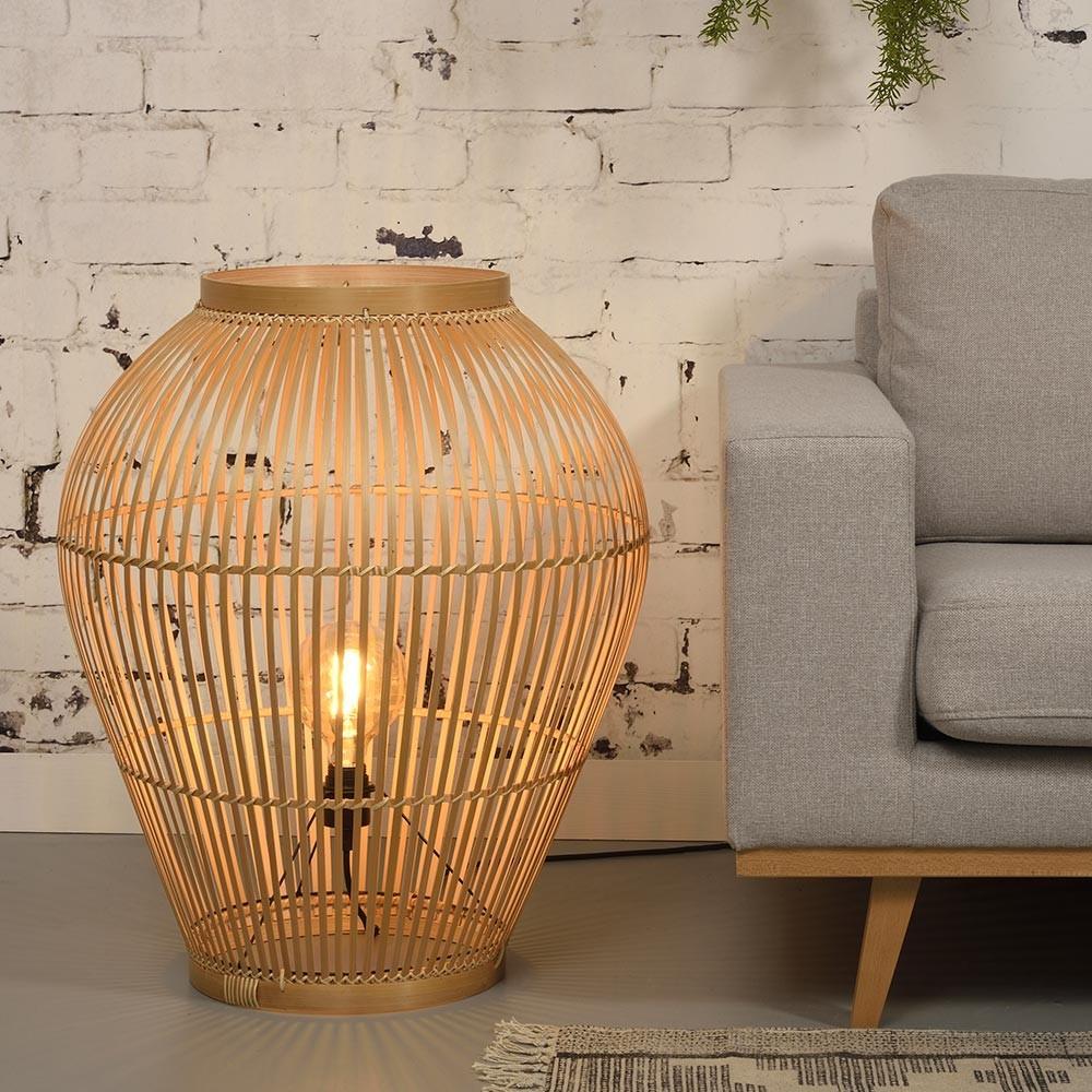 Tuvalu floor lamp bamboo L Good & Mojo