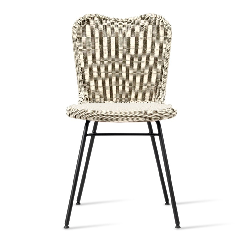 Lena dining chair steel A base Vincent Sheppard