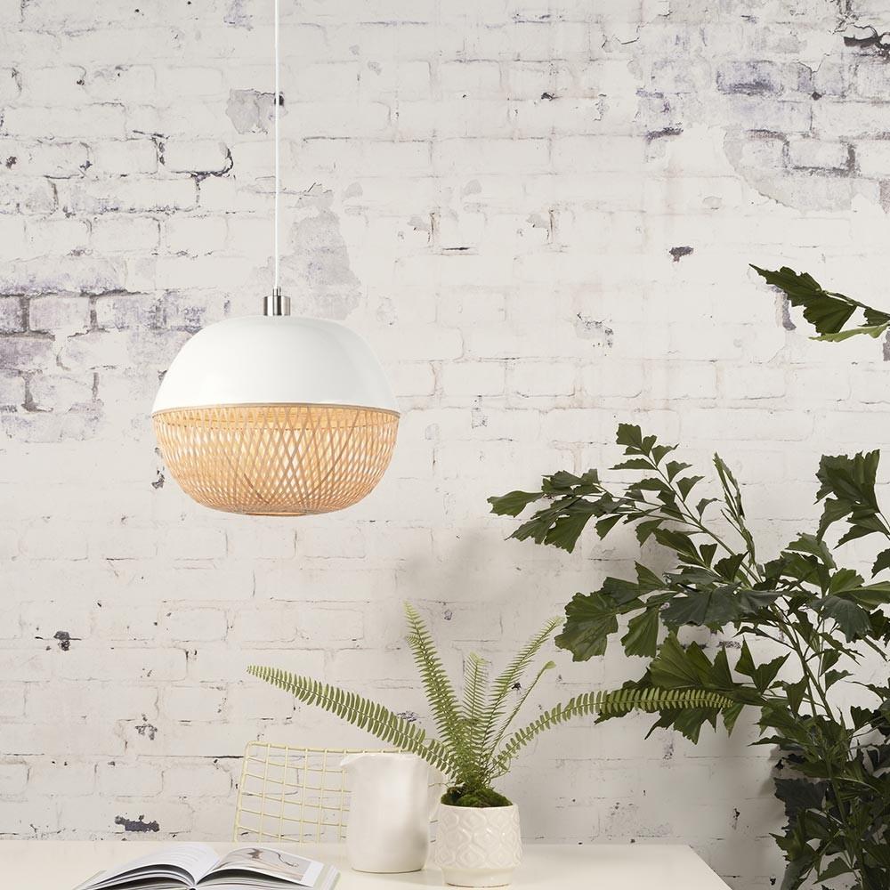Mekong pendant lamp round Good & Mojo