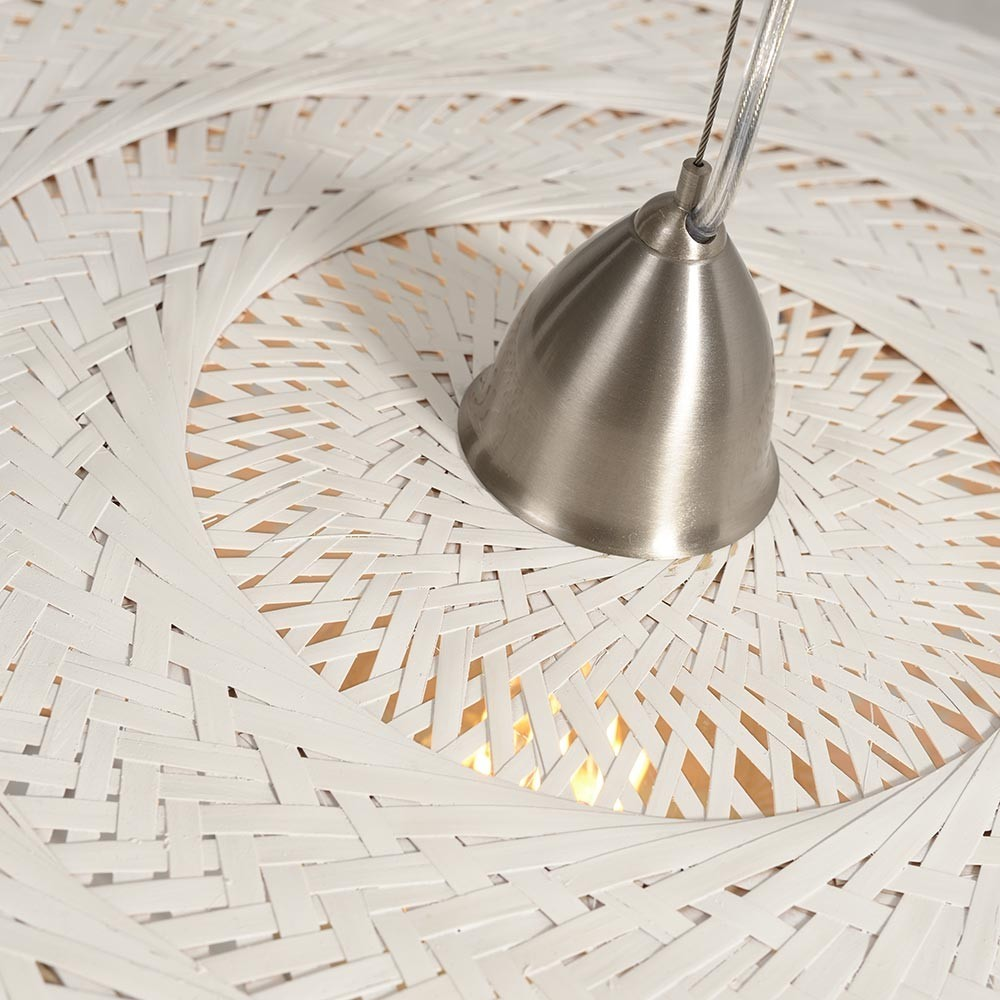 Palawan double pendant lamp white Good & Mojo