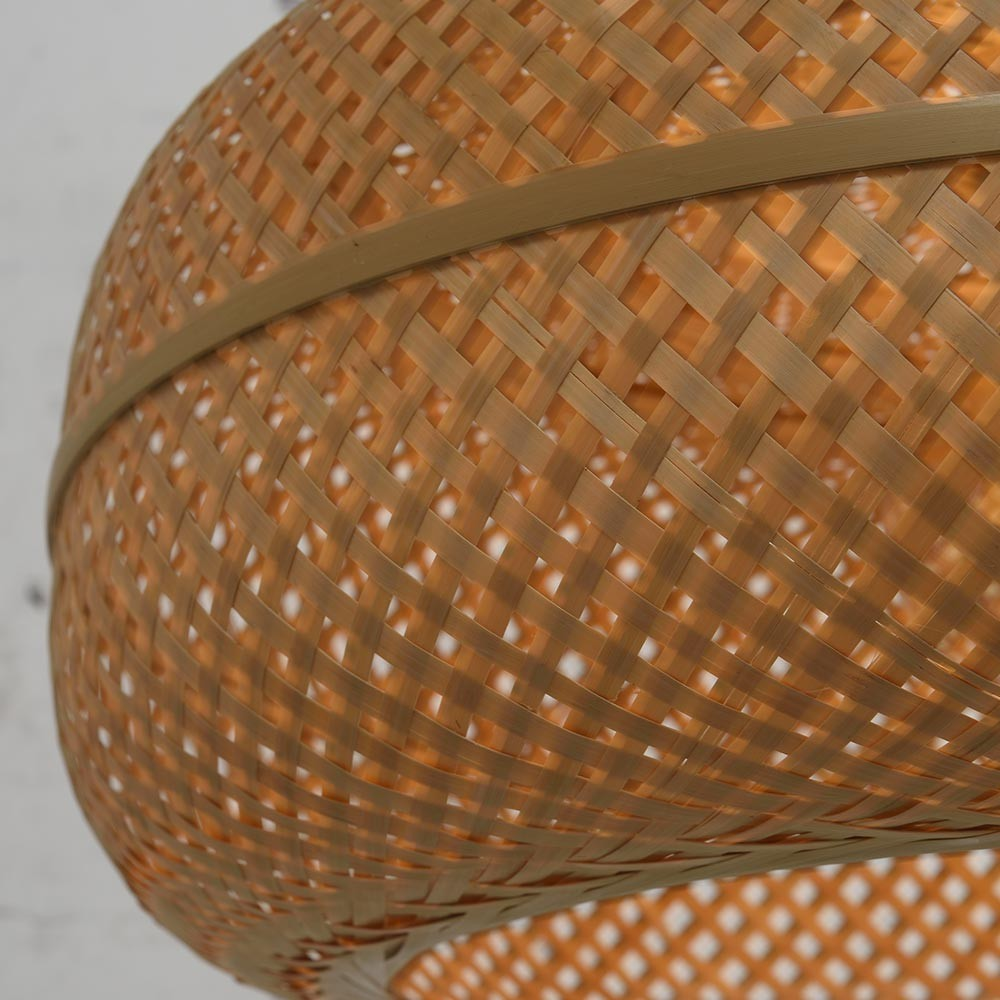 Palawan double pendant lamp natural Good & Mojo