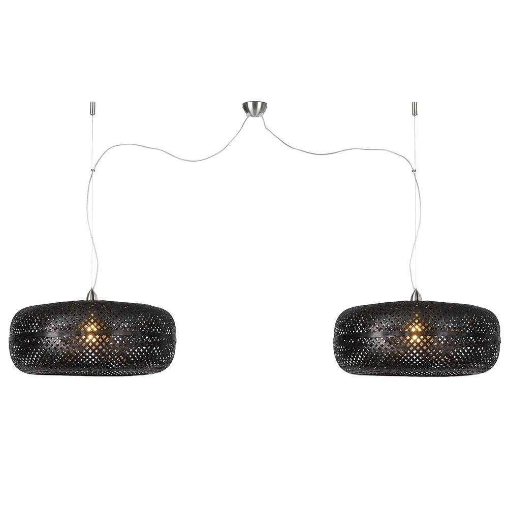 Palawan double pendant lamp black Good & Mojo