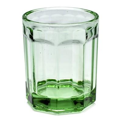 M Fish & Fish glas transparant groen (set van 4) Serax