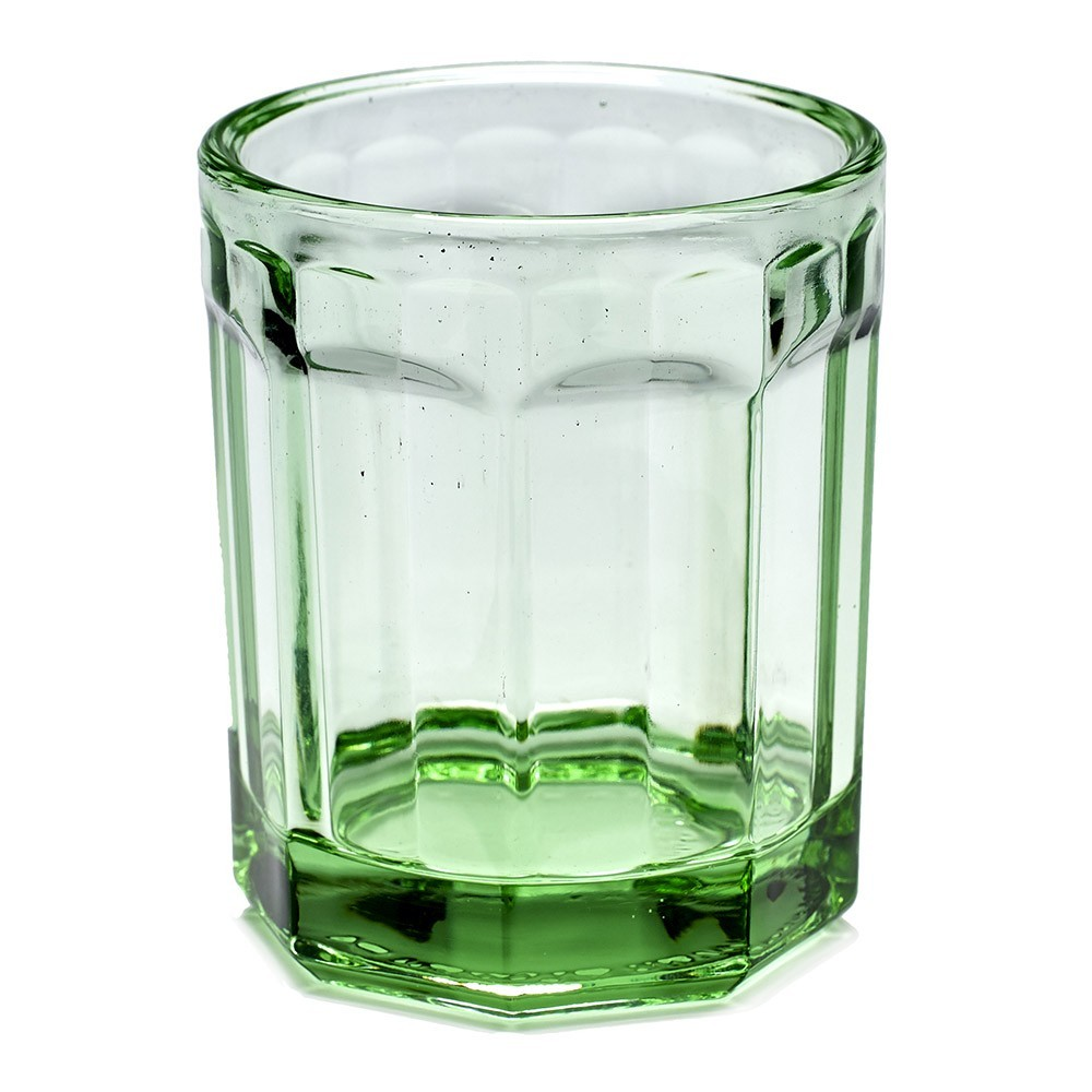 Fish & Fish glass M transparent green (set of 4) Serax