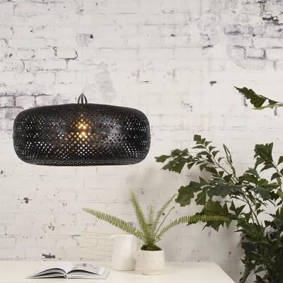 Zwarte Palawan hanglamp Good & Mojo