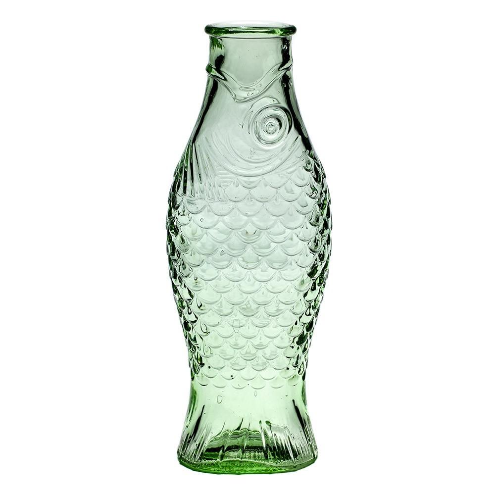 1L Fish & Fish fles transparant groen Serax