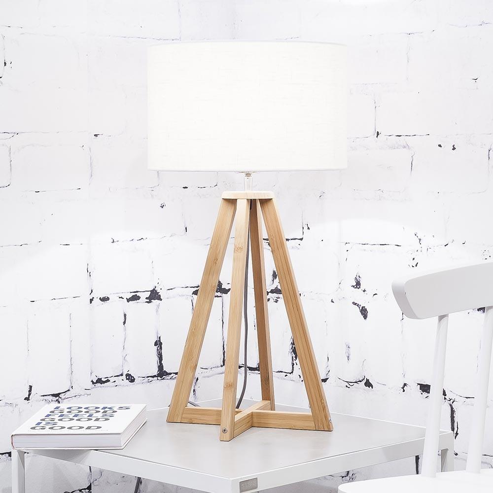Everest table lamp linen white Good & Mojo