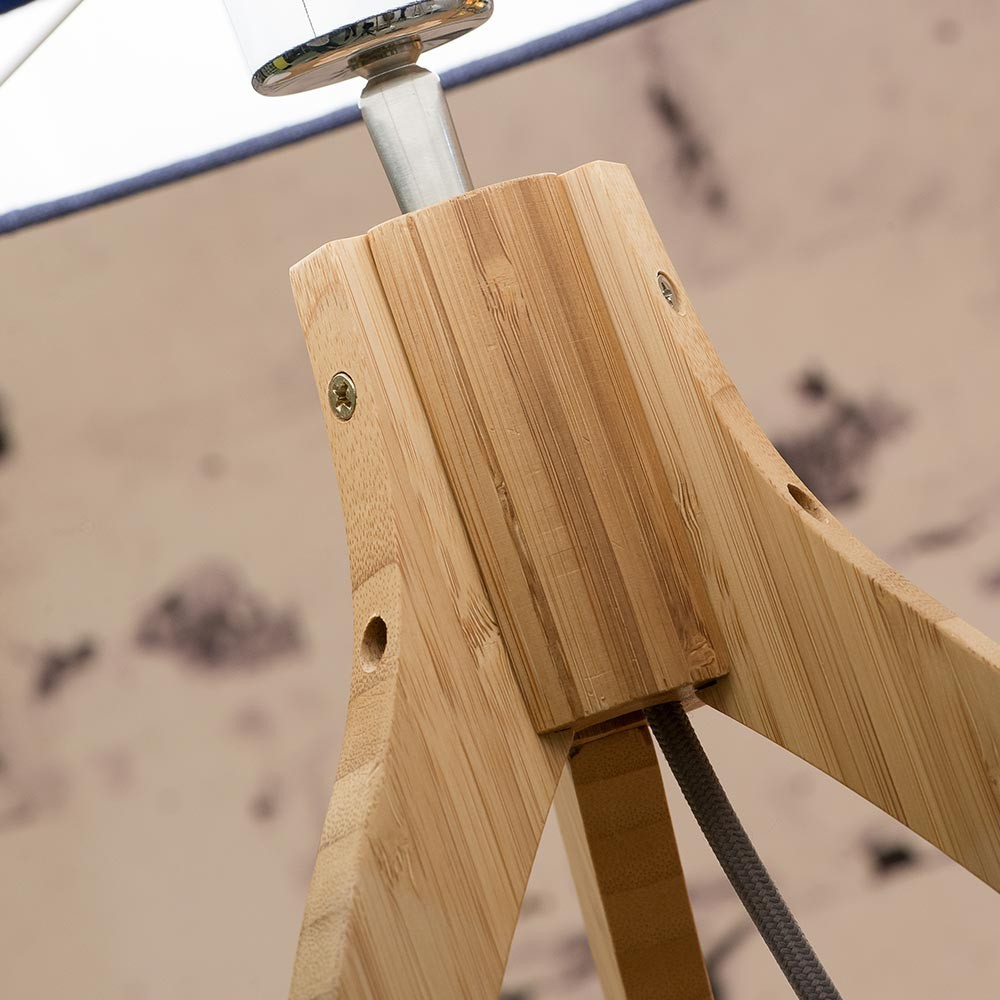 Annapurna tafellamp licht linnen Good & Mojo