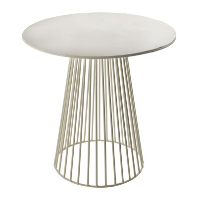 Garbo salontafel wit Ø40 cm Serax