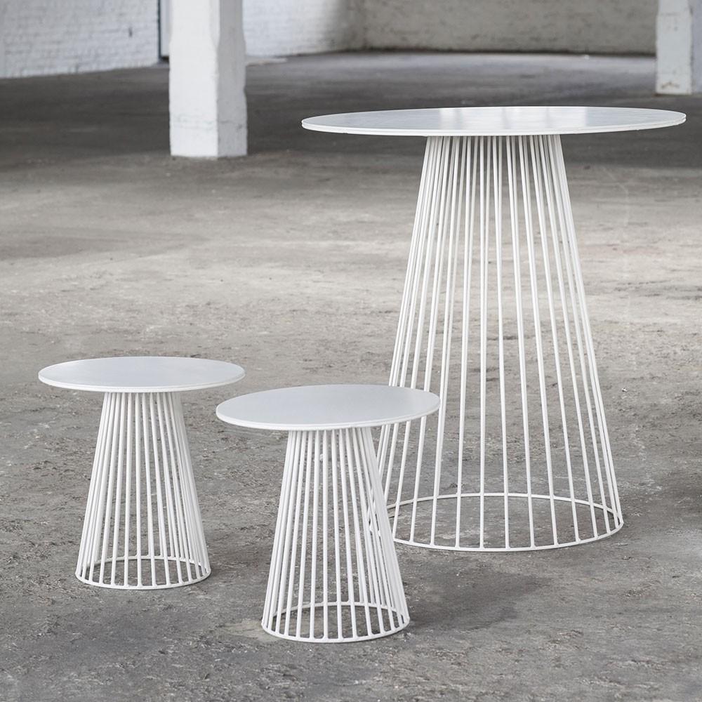 Garbo coffee table white Ø50 cm Serax