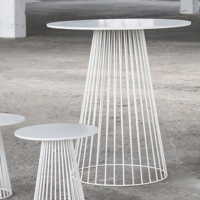 Garbo salontafel wit Ø60 cm Serax