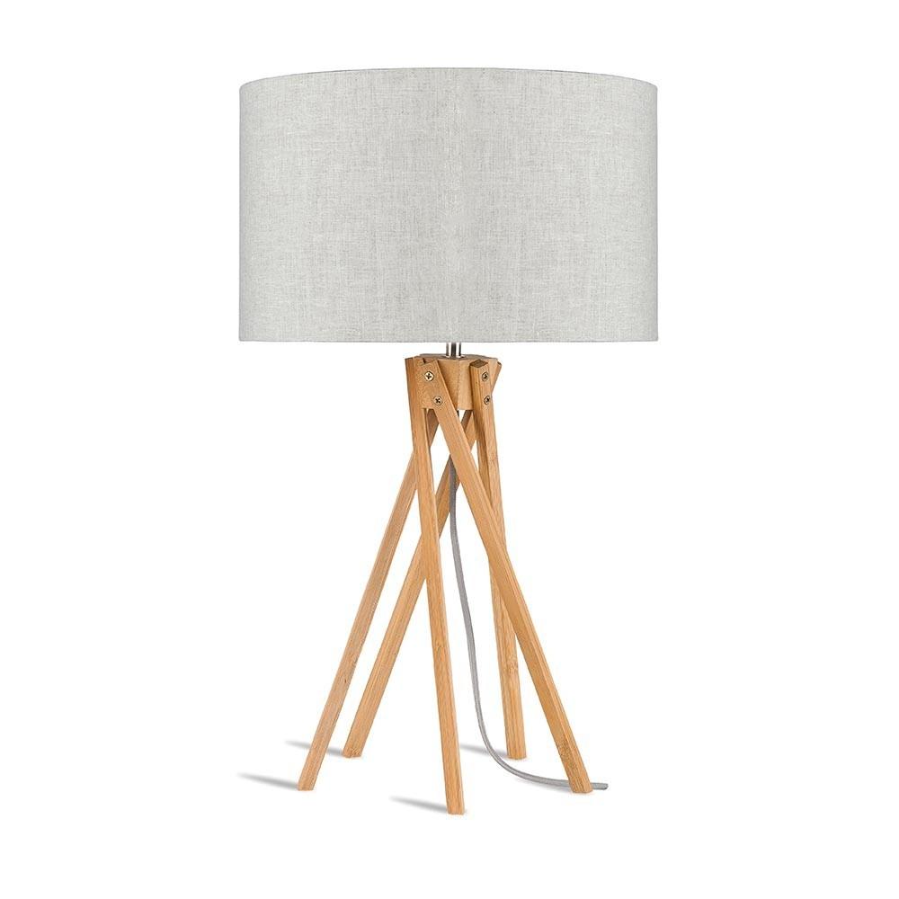 Kilimanjaro table lamp light linen Good & Mojo