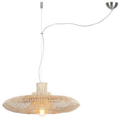 Kalahari pendant lamp rattan natural L Good & Mojo