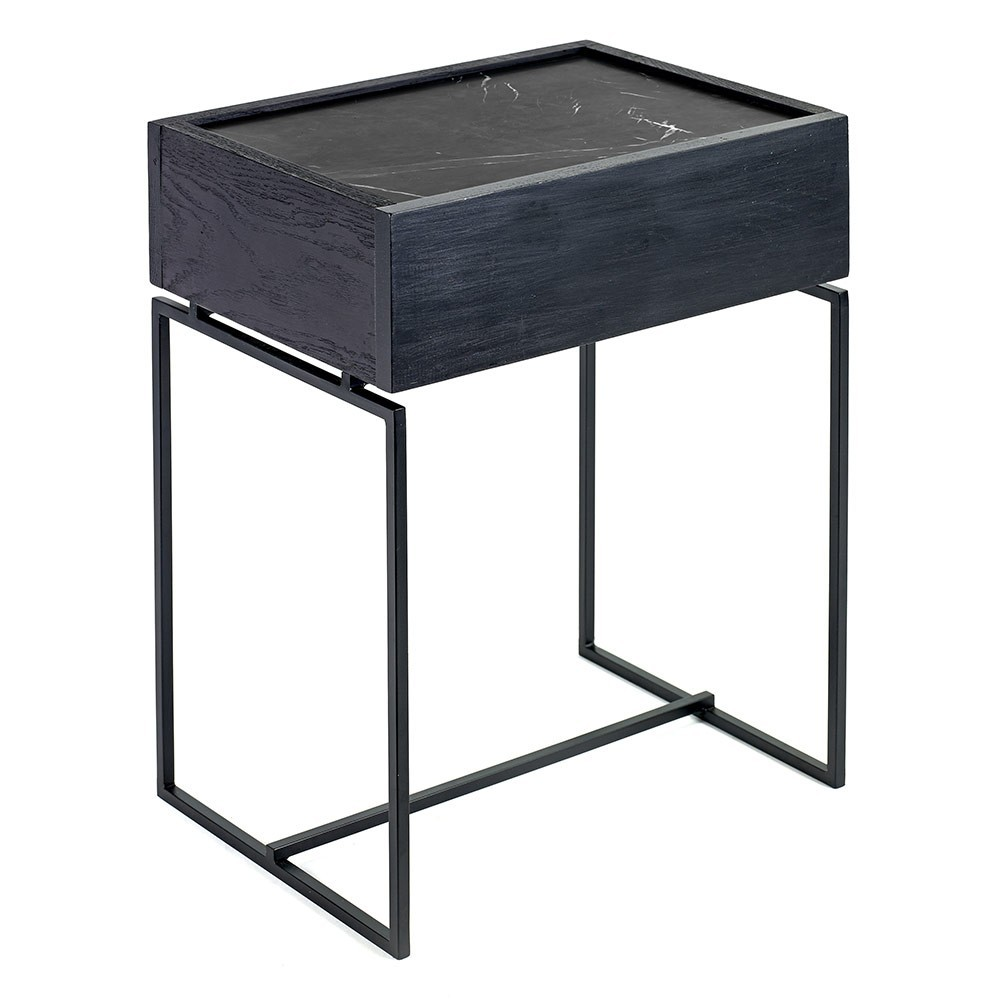 Dialect drawer table S Nero Serax
