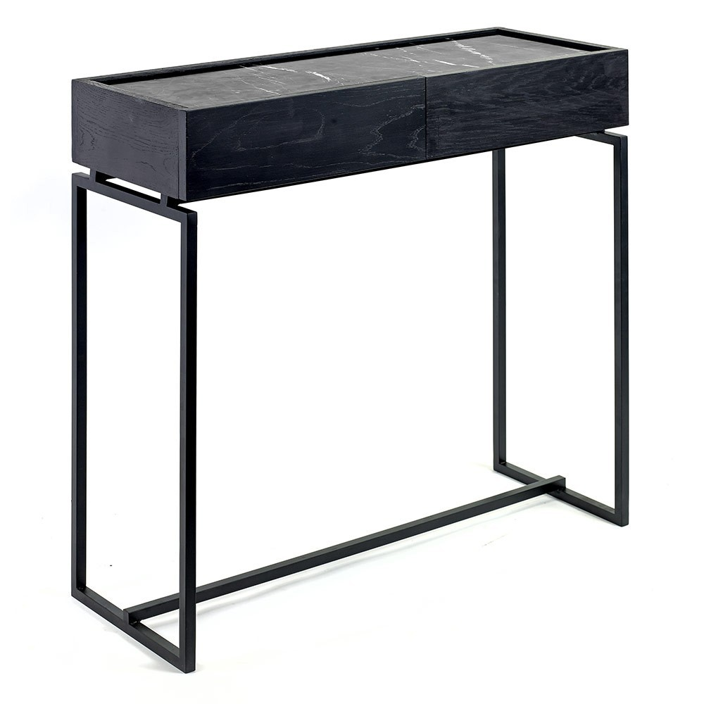 Dialect drawer table L Nero Serax