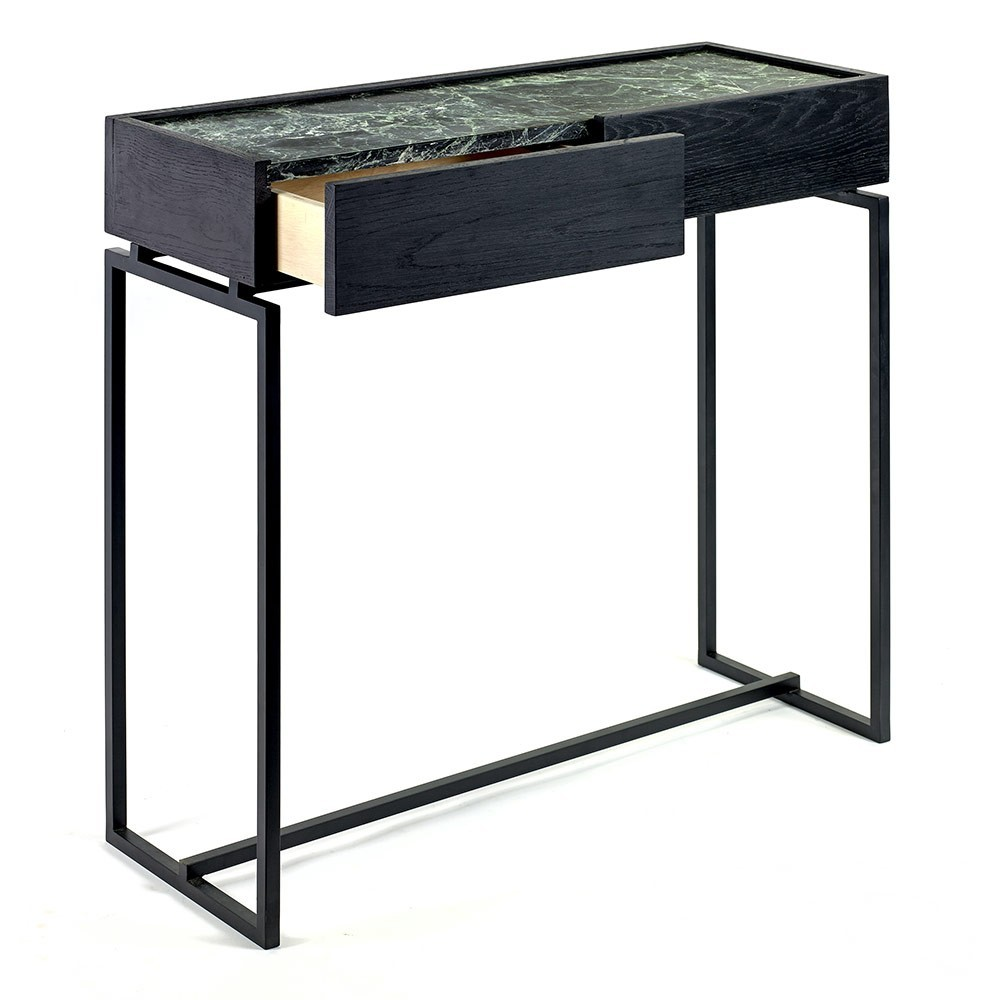 Dialect drawer table L Verde Serax